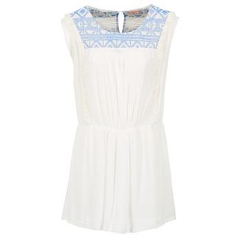 Textiel Dames Korte jurken Moony Mood EBENE Wit