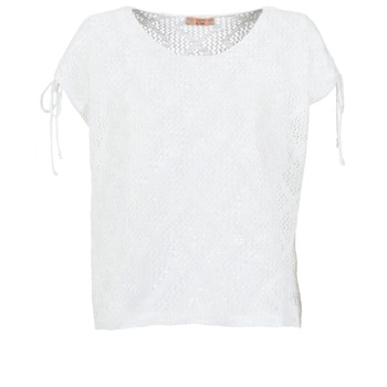 Textiel Dames Tops / Blousjes Moony Mood EDDA Ecru