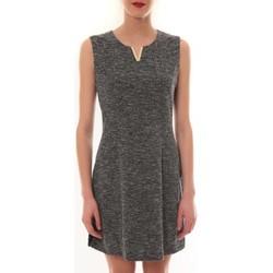 Textiel Dames Korte jurken Vera & Lucy Robe sans manches Gris R6236 Grijs