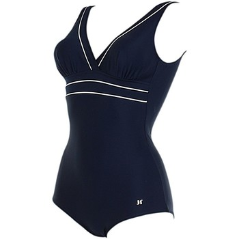 Textiel Dames Badpak Janine Robin 991278-18 Blauw