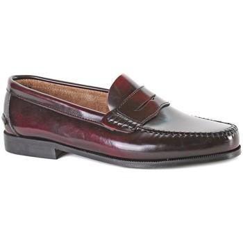 Schoenen Heren Mocassins Castellanos Artesanos  Rood