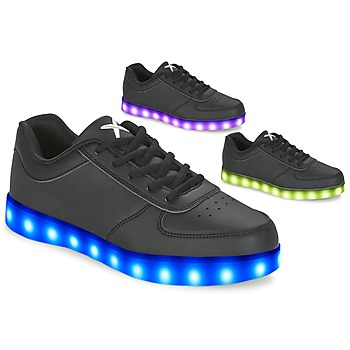 Schoenen Lage sneakers Wize & Ope THE LIGHT Zwart