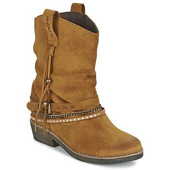 Schoenen Dames Laarzen Coolway BIRK Bruin