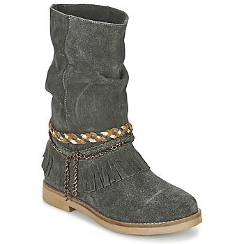 Schoenen Dames Hoge laarzen Coolway BIARA Grijs