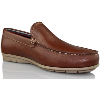 Schoenen Heren Mocassins CallagHan FREE HORSE MARRON