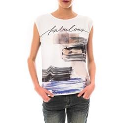 Textiel Dames T-shirts korte mouwen Little Marcel Tee shirt Timoti Noir Zwart