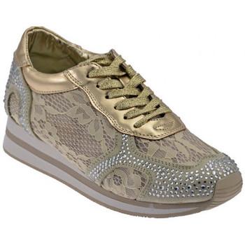 Schoenen Dames Lage sneakers Gold&gold