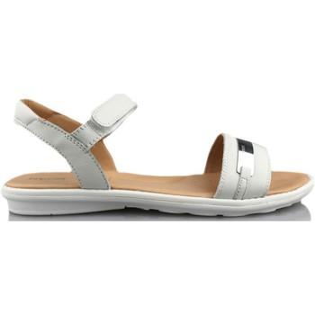 Schoenen Meisjes Sandalen / Open schoenen Geox SAND MILK BLANCO