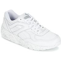 Schoenen Heren Lage sneakers Puma R698 SPECKLE Wit / Zilver