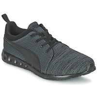 Schoenen Heren Lage sneakers Puma CARSON RUNNER CAMO KNIT EEA Zwart / Grijs