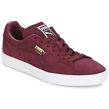 Schoenen Lage sneakers Puma SUEDE CLASSIC + Bordeau