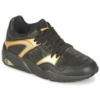 Schoenen Dames Lage sneakers Puma BLAZE GOLD WN'S Zwart / Goud