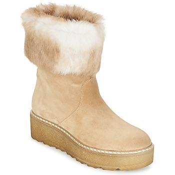 Schoenen Dames Laarzen Nome Footwear MOVETTA Beige