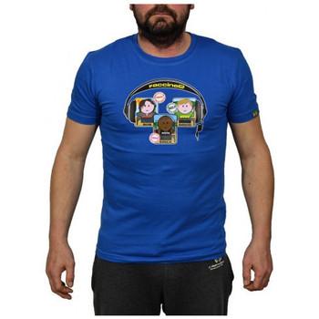 Textiel Heren T-shirts korte mouwen Faccine