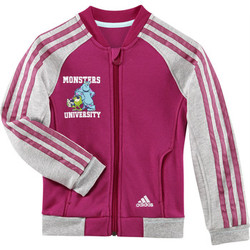 Textiel Meisjes Trainings jassen adidas Performance Disney monsters university track top Roze