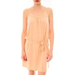 Textiel Dames Korte jurken Little Marcel Litlle Marcel Robe Reira Orange Oranje