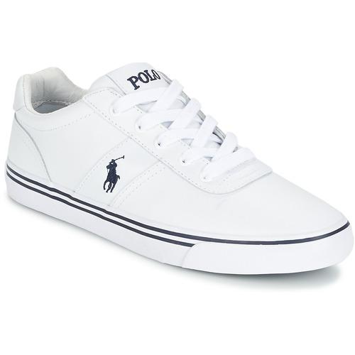 Schoenen Heren Lage sneakers Polo Ralph Lauren HANFORD Wit