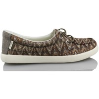 Schoenen Dames Lage sneakers Dude FERRARA MARRON