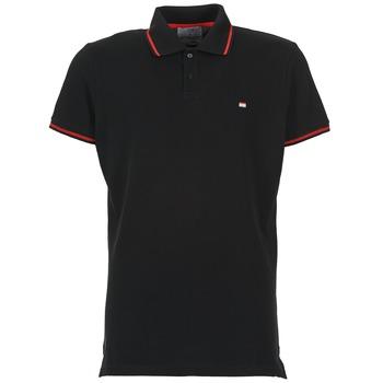 Textiel Heren Polo's korte mouwen Casual Attitude EPIDIN Zwart