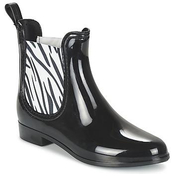 Schoenen Dames Regenlaarzen Be Only BEATLE Zwart