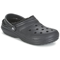 Schoenen Klompen Crocs CLASSIC LINED CLOG Zwart