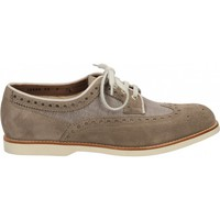 Schoenen Heren Derby Santoni CHARRY MISSING_COLOR
