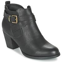 Schoenen Dames Enkellaarzen Refresh RETOLO Zwart