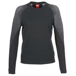 Textiel Dames Sweaters / Sweatshirts Nike TECH FLEECE CREW Zwart