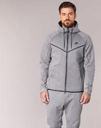 Textiel Heren Wind jackets Nike TECH FLEECE WINDRUNNER HOODIE Grijs