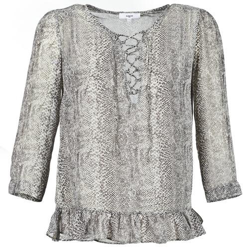 Textiel Dames Tops / Blousjes Suncoo LANA Grijs