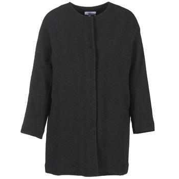 Textiel Dames Mantel jassen Suncoo EMILE Zwart