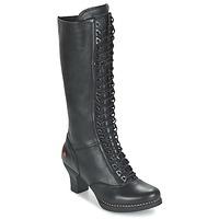 Schoenen Dames Hoge laarzen Art HARLEM Zwart
