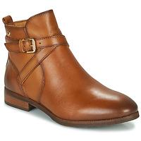 Schoenen Dames Laarzen Pikolinos ROYAL W4D Cognac