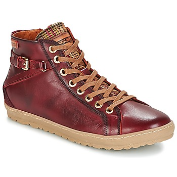 Schoenen Dames Hoge sneakers Pikolinos LAGOS 901 Bordeau