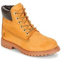 Schoenen Dames Laarzen Lumberjack RIVER Bruin