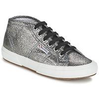 Schoenen Dames Hoge sneakers Superga 2754 LAMEW Zilver