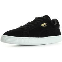 Schoenen Dames Lage sneakers Puma Suede Classic + Zwart