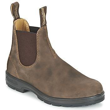 BLUNDSTONE Classic Rustic nubuck chelsea boots bruin online kopen