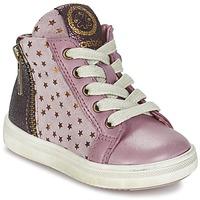 Schoenen Meisjes Hoge sneakers Acebo's MARLIE Roze