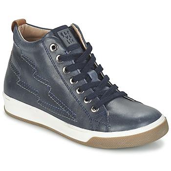 Schoenen Jongens Hoge sneakers Garvalin VALIRA Marine