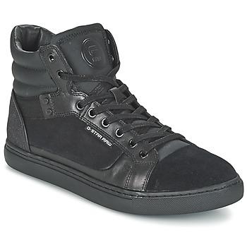 Schoenen Heren Hoge sneakers G-Star Raw NEW AUGUR Zwart