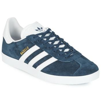 Schoenen Lage sneakers adidas Originals GAZELLE Marine