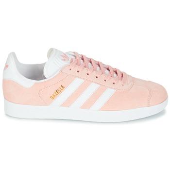 Schoenen Dames Lage sneakers adidas Originals GAZELLE Roze