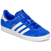 Schoenen Jongens Lage sneakers adidas Originals GAZELLE 2 J Blauw
