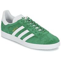 Schoenen Lage sneakers adidas Originals GAZELLE Groen