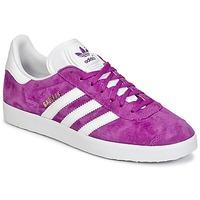 Schoenen Dames Lage sneakers adidas Originals GAZELLE Violet