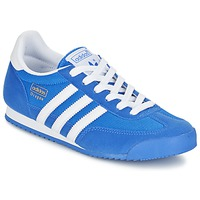 Schoenen Jongens Lage sneakers adidas Originals DRAGON J Blauw