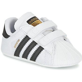 Schoenen Kinderen Lage sneakers adidas Originals SUPERSTAR CRIB Wit