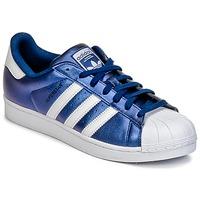 Schoenen Heren Lage sneakers adidas Originals SUPERSTAR Blauw