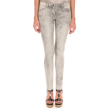 Textiel Dames Skinny Jeans LPB Woman Les Petites bombes Pantalon Skinny Stretch We S161802 Grijs